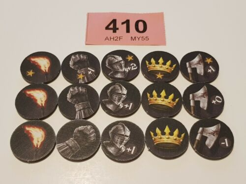 A Game of Thrones The Board Game 2nd Edition ORDER TOKENS 15 Playing Pieces