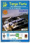 84 TARGA FLORIO 2000 RALLY INTERNAZIONALE DI SICILIA NUMERO UNICO 16 PAGINE AUTO