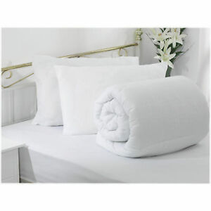 ANTI-ALLERGY-FABRIC-HOLLOWFIBRE-DUVET-QUILT-PAIR-OF-PILLOWS-ALL-SIZES-amp-TOGS