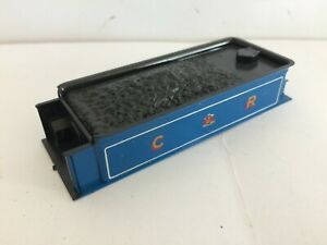 Ambitieux Triang Hornby R554 Tender Top Caledonian Single 123 Gloss Blue Vgc