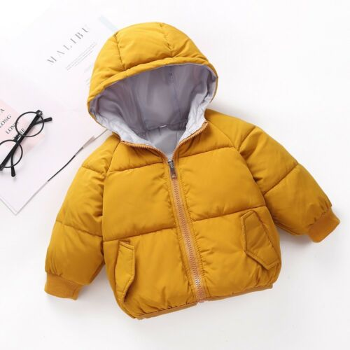 Kids Baby Girls Boys Hooded Coat Cloak Jacket Thickened Warm Outerwear FW18