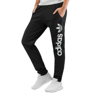 ADIDAS ORIGINALS WOMEN S TRACK PANTS BOTTOMS JOGGERS TREFOIL TAPERED ... bb58c35758