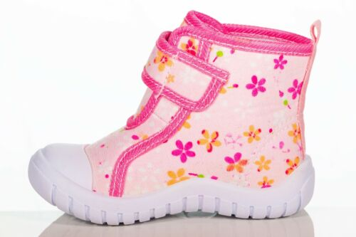Girls Toddlers Walking Hight top pink sneakers size 5,6,7,8,9
