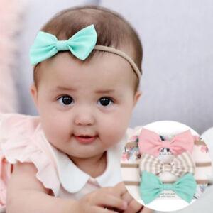 *-Infant Baby Girl Cute Bow Headband Newborn Hair Band Headdress Headwear