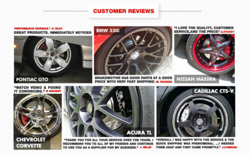 For GLE43 AMG ML350 ML400 ML550 Rear Drilled Slotted Brake Rotors /& Ceramic Pads