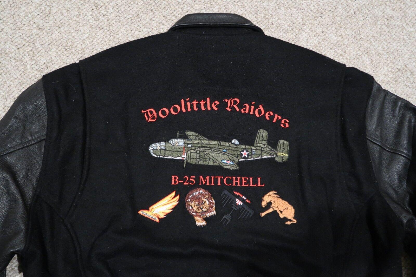 LETTERMAN BLK XL JKT DOOLITTLE 62ND REUNION 2004 B25 WWII