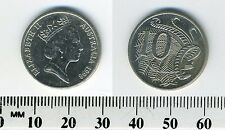 Australia 1998 - 10 Cents Copper-Nickel Coin - Lyrebird - Queen Elizabeth II