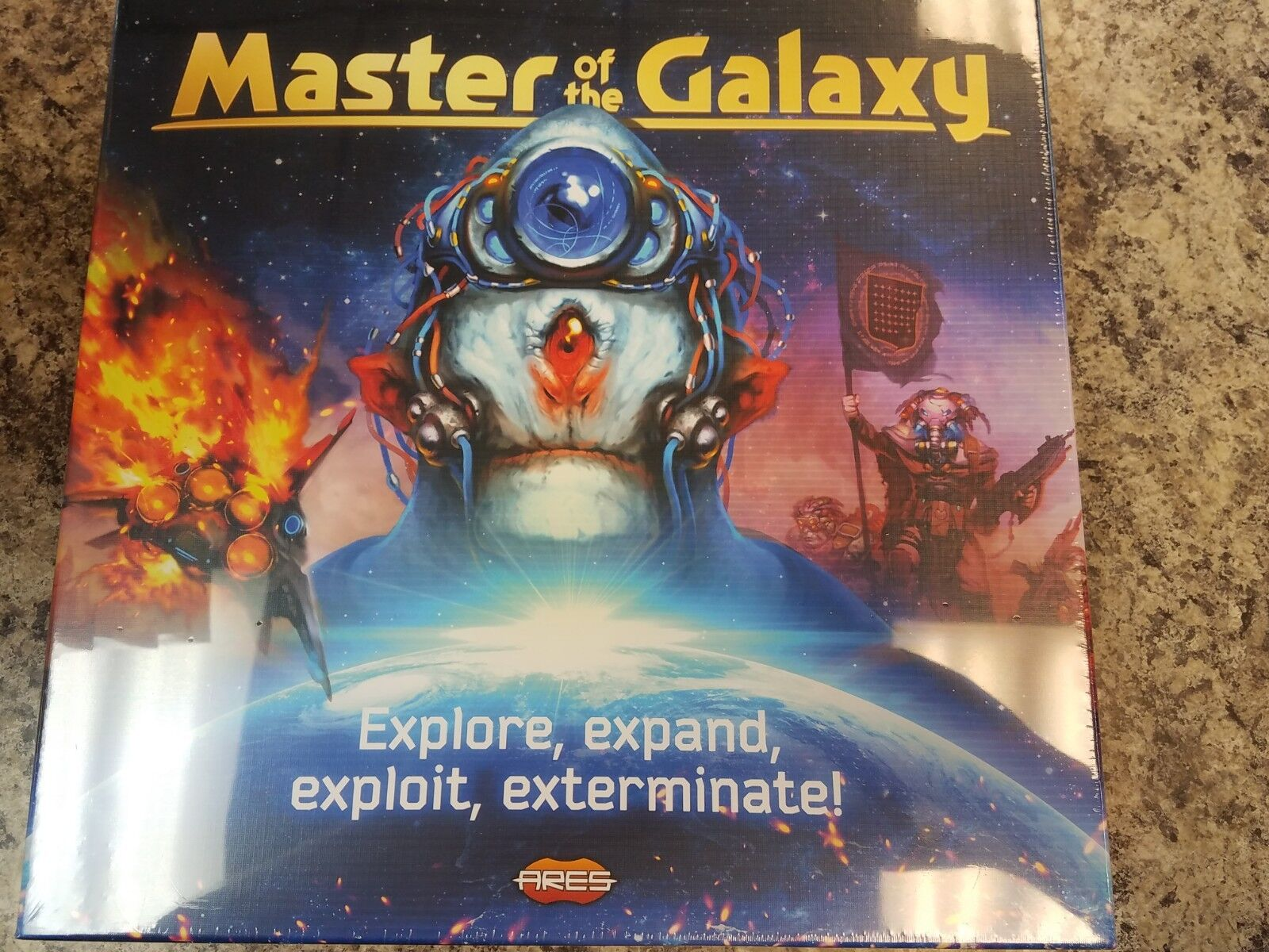 Master of the Galaxy - Ares Games Board Game Nuovo
