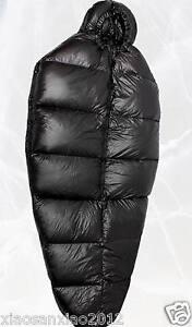 Image Is Loading Shiny Nylon Down Sleeping Bag Bags 1500g Goose