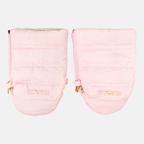 Nuevos guantes de invierno cochecito de niño Mayoral Rosa Para Mamá O Papá RRP £ 18.99