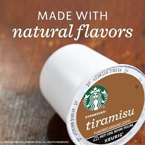 Starbucks TIRAMISU KCup Coffee Pods Keurig 1 box / 10 pods Package Varies