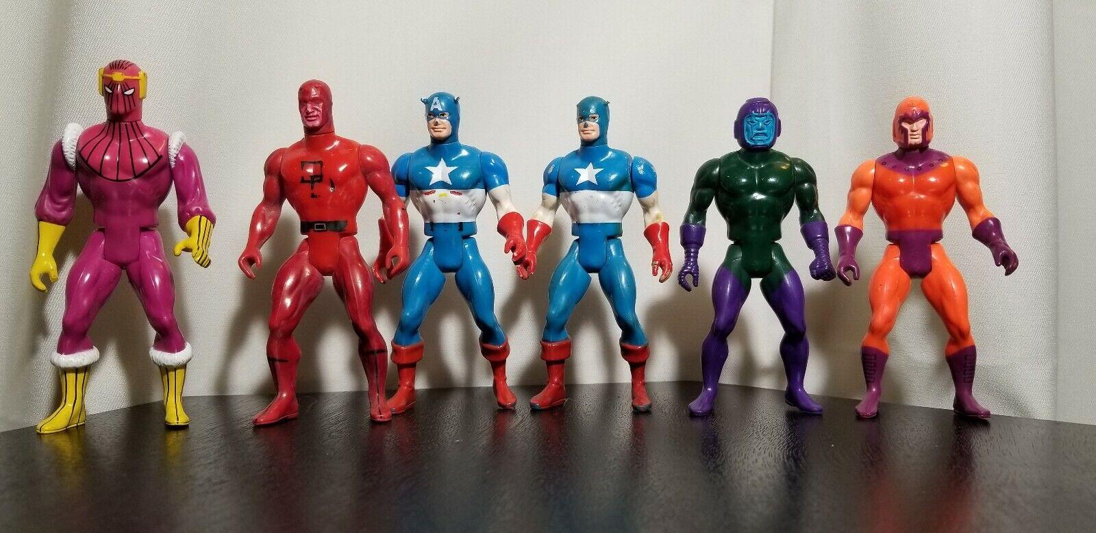 1984 Marvel Original Mattel figures lot SECRET WARS COLLECTION Baron ZemoKang +