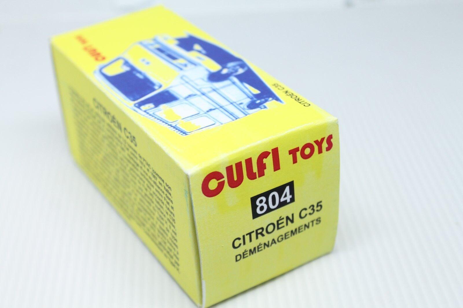 Culfi Toys Toys Toys  citroen c35  demenagements  1 43 8f8f2c