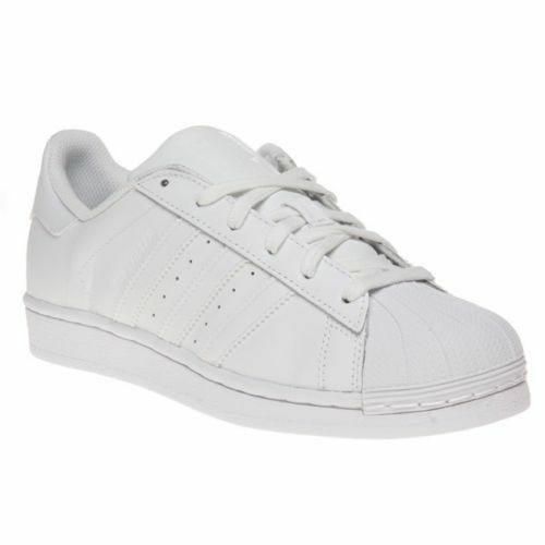 adidas Superstar Foundation J B23641 White Trainers UK 5.5 for sale online   aff4c5e440b