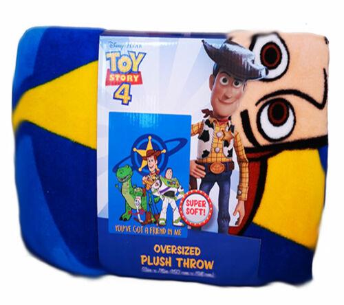 Disney Oversized Plush Children Throw Lion King Paw Patrol Toy Story Gift Ideas