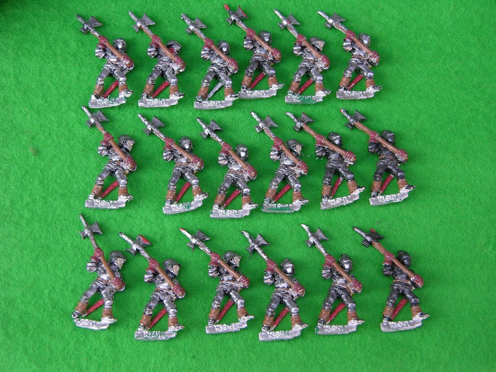 WARHAMMER, EMPIRE ARMY, MEN AT ARMS x18