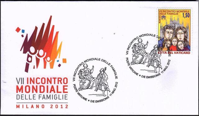 Vatikan 2012 FDC Nr.1742 Mailand Weltfamilientreffen
