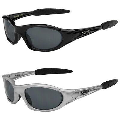 2er Pack X-CRUZE® Fahrrad Laufbrille Sonnenbrille Brille Herren Damen schwarz