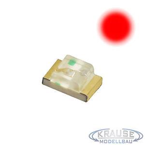 KM0023 250 Stück SMD LED 0805 rot klar