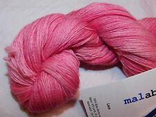 Pinks CACTUS FLOWER 50gr Skein 470yd Malabrigo LACE Baby Merino Wool XSoft YARN