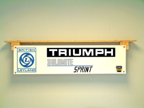 Triumph Dolomite Sprint BANNER Workshop Garage Classic Car Show Display