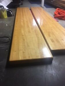 Image Is Loading Solid Maple Butcher Block Table Top Used Condition