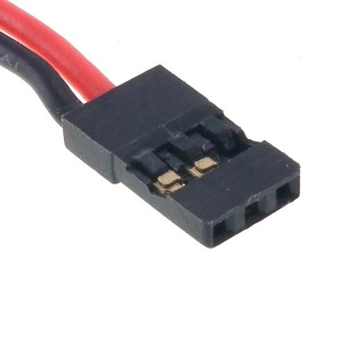 Mini T Connecteur Rc sur Silicone Câble Spectre Futaba Jr Hitec Jst