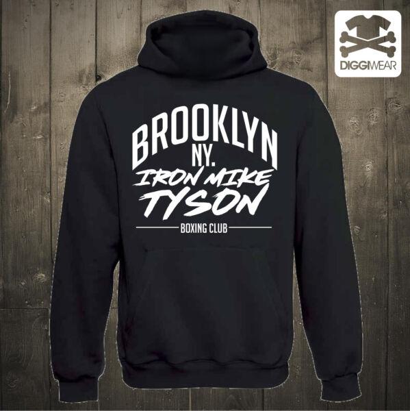 BROOKLYN KID IRON   BOXING CLUB DYNAMITE MIKE TYSON BOXEN HOODIE XS-XXXL