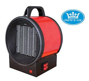 Prem-I-Air garage atelier coffre-fort en acier camping 2kW Électrique Ventilateur Chauffage # 1610  </span>