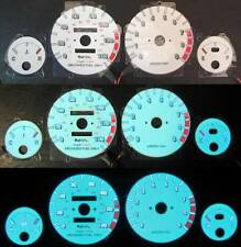 90 91 92 93  Acura Integra GSR White Face Indiglo & Reverse Glow Gauges 9K RPM