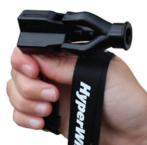 HyperWhistle The Original Worlds Loudest Whistle up to 142db Loud, Very black