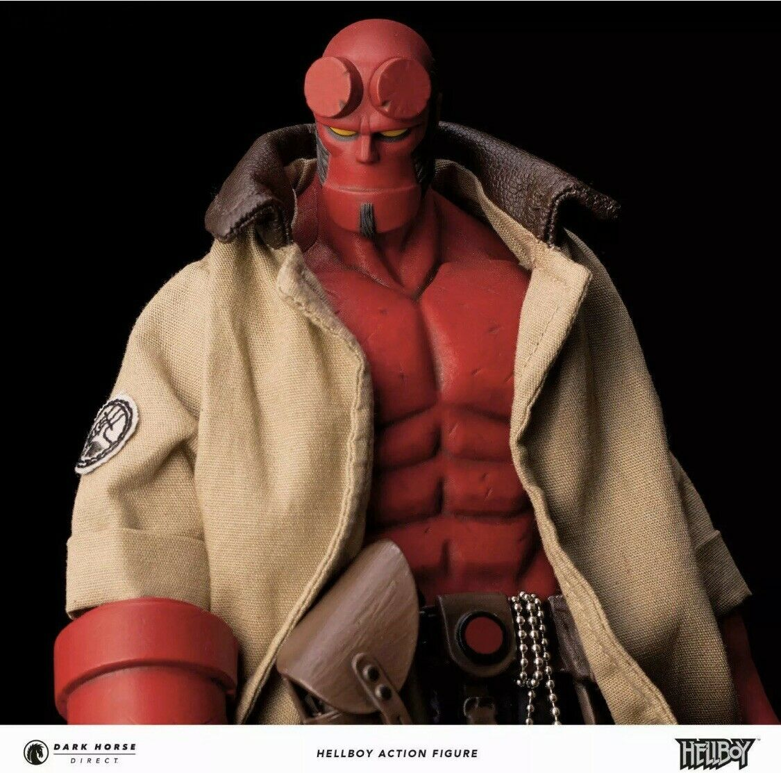 1000toys Dark Horse Direct Exclusive HELLBOY 1 12 Scale Action Figure