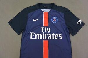 2015-2016 NIKE PSG Paris Saint-Germain Home Shirt SIZE L (adults ... 3b75d2bb63c86