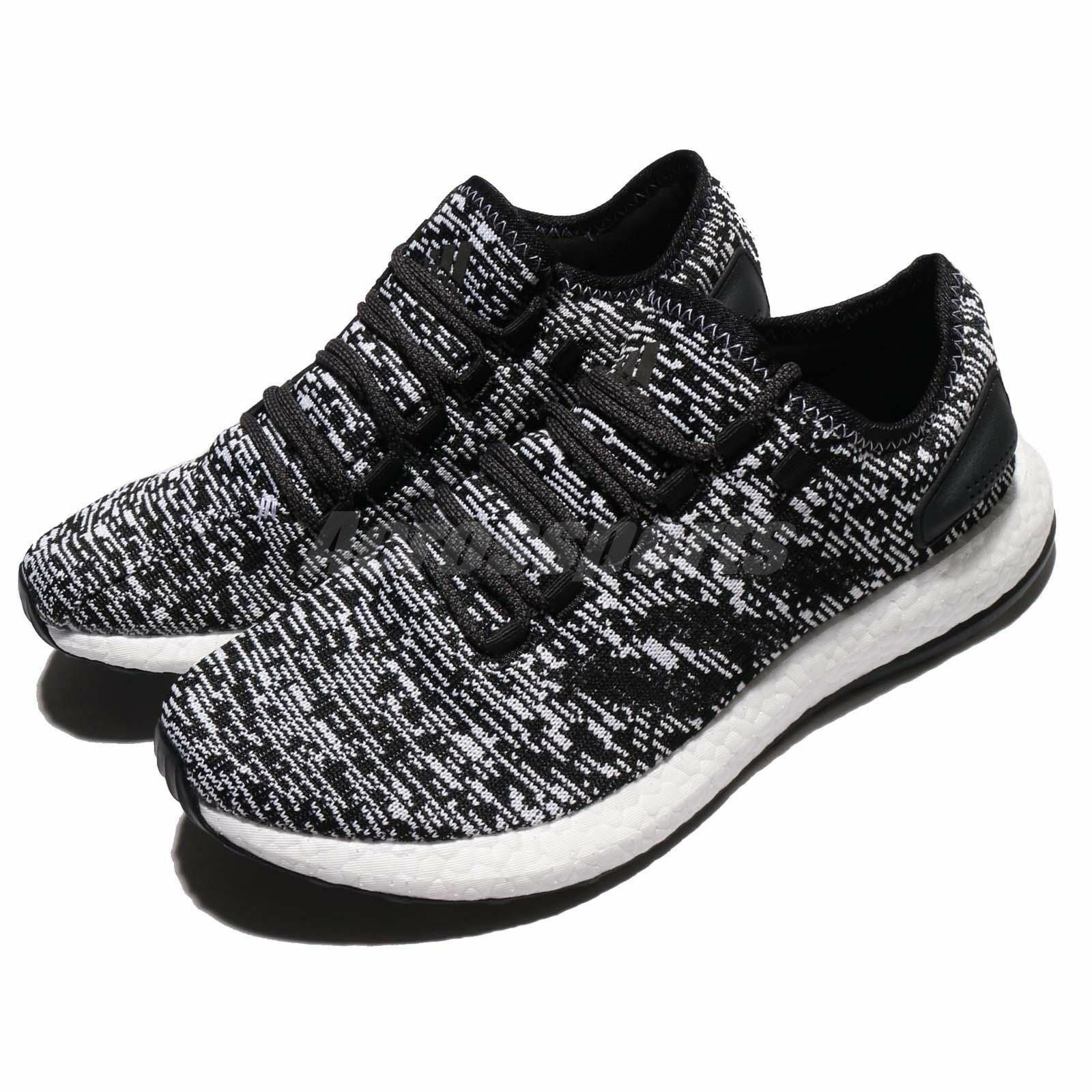 Adidas Men's Pure Boost Running shoes - Black White size 12   model s81995