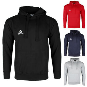 Adidas-Men-039-s-Essentials-Logo-Graphic-Pouch-Pocket-Pullover-Hoodie