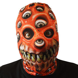 image is loading red eyeball monster mouth halloween face mask adult