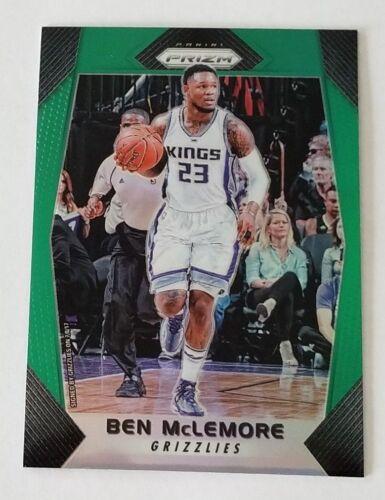 2017-18 Panini Prizm Basketball - Green Prizm - BEN MCLEMORE - Grizzlies - #203