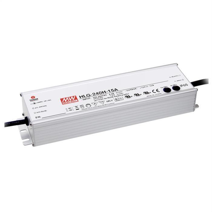 Alimentatore LED 240w 48v 5a; MeanWell hlg-240h-48a; quadri Alimentatore