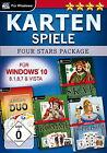 Kartenspiele Four Stars Package für Windows 10 (PC, 2016, DVD-Box)