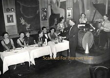 Vintage 1920s Lesbian Paris France Le Monocle Nightclub Photo Gay RPT (#2)