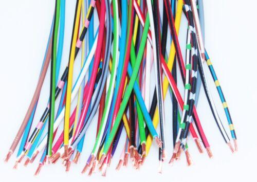 25mm² Fahrzeugleitung Kfz Leitung Kabel Litze Stromkabel 1-3 Farbig 0,5mm²