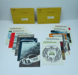 Porsche-Panorama-Magazine-Complete-Year-1967-12-Issues-PCA-Rare-Volume-12-Vintg