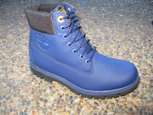 Timberland-Mens-Radford-6in-logo-BT-Light-Weight-Boots-Canvas-Dark-Blue-A1R5M