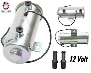 Nuevo-100-LPH-4-6PSi-12-V-Universal-Electrica-Bomba-De-Combustible-Gasolina-O-Diesel-faceta-Estilo