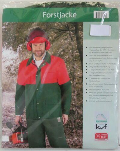 textiles Vertrauen mit Reissverschluß Forstjacke Gr 50 KWF