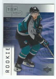 2001-02-UD-Top-Shelf-Mikael-Samuelsson-Rookie-Card-900