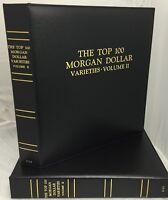 Caps Album Morgan Dollars Top 100 Vam Varieties Volume 2 Air-tite Capsules 2153