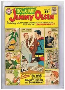 DC-Comics-Eighty-Page-Giant-2-Superman-Pal-039-s-Jimmy-Olsen-VG-1964