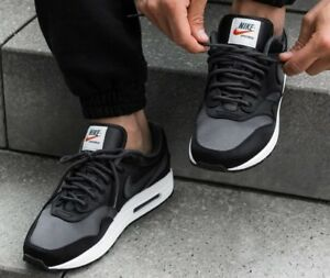 buy popular 27018 cdd21 Image is loading Nike-Air-Max-1-SE-AO1021-001-Black-