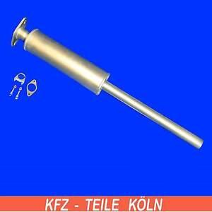 VOLVO-C30-S40-II-1-6-presilenciador-Sistema-de-escape-Silenciador